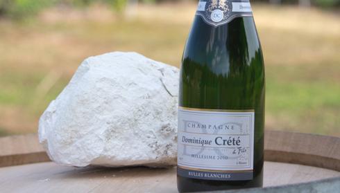 Champagne Dominique Crété - Cuvée Champagne Bulles Blanches