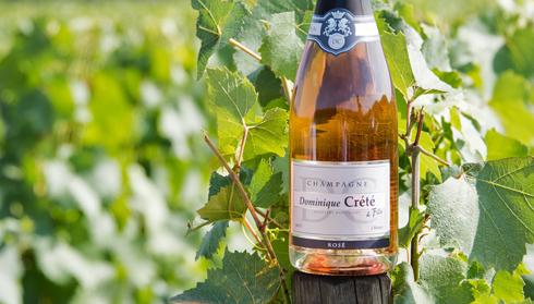Champagne Dominique Crété - Cuvée Rosé