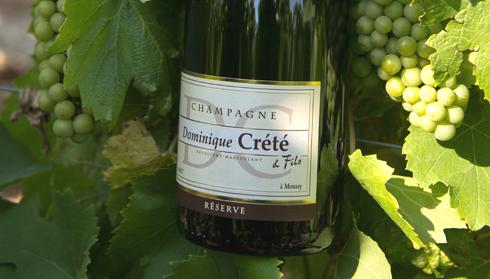 Champagne Dominique Crété - Cuvée réserve brut