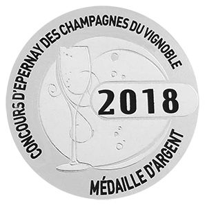 Médaille d'Argent Concours d'Epernay 2018