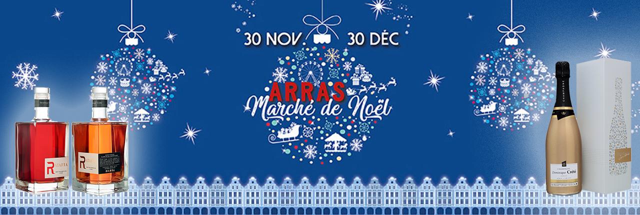 Marché de Noël d'Arras 2018